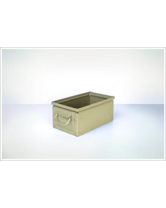 "Ted Thorsen 13"" x 7.5"" x 6"" Steel Stack Boxes - Beige"