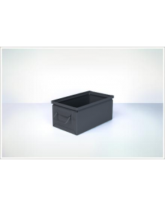 "Ted Thorsen 13"" x 7.5"" x 6"" Steel Stack Boxes - Black"