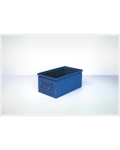 "Ted Thorsen 13"" x 7.5"" x 6"" Steel Stack Boxes - Blue"