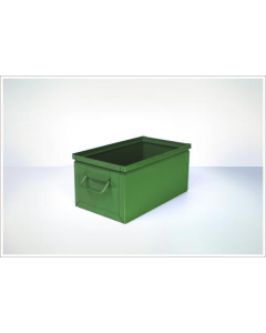 "Ted Thorsen 15.75"" x 9"" x 7.5"" Steel Stack Boxes - Green"
