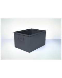 "Ted Thorsen 16.5"" x 12"" x 9.5"" Steel Stack Boxes - Black"