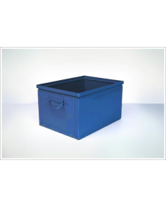 "Ted Thorsen 16.5"" x 12"" x 9.5"" Steel Stack Boxes - Blue"