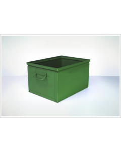 "Ted Thorsen 16.5"" x 12"" x 9.5"" Steel Stack Boxes - Green"