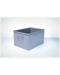 "Ted Thorsen 16.5"" x 12"" x 9.5"" Steel Stack Boxes - Gray"
