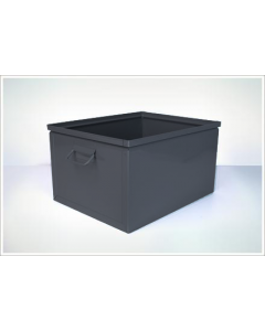 "Ted Thorsen 19.25"" x 15"" x 11"" Steel Stack Boxes - Black"