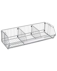 "Quantum Modular Wire Stacking Baskets 14"" x 36"" x 9"""