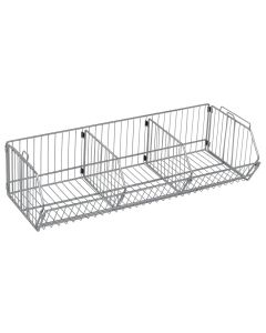 "Quantum Modular Wire Stacking Baskets 14"" x 48"" x 9"""