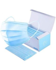 500 Ct. 3-Ply Disposable Non-Surgical Face Masks