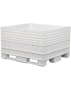 "48"" x 44"" x 29""  Big Box Straight Wall Bulk Container"