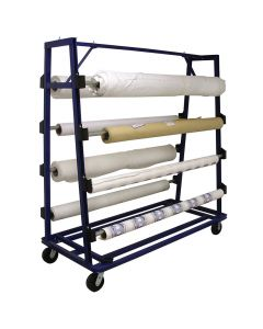 "AIT 125 Cloth Unwinding Cart for 84"" Wide Goods"