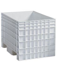 "Buckhorn Big Box 42"" x 29"" x 28"" Straight Wall Container - White"