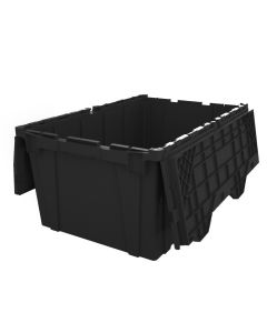 "24"" x 20"" x 12"" Plastic Attached Lid Container"
