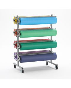 "8 Roll Paper Dispensing and Cutting Rola-Rack 25"" Deep x 38"" Wide  x 52 1/2"" High"