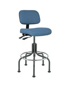 "Bevco Doral 5000 Series Blue Adjustable Height Chair 25""-30"""
