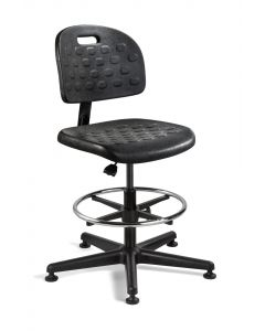"Bevco Breva Value-Line Polyurethane Adjustable Height Chair 21-1/4"" to 31"""