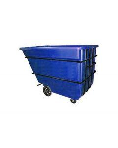 """Bayhead Heavy Duty 2.2 Cubic Yard Tilt Truck 74"""" x 51"""" x 53.5"""" Blue"""