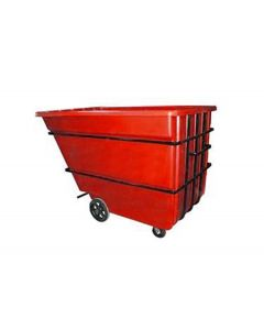"Bayhead Heavy Duty 2.2 Cubic Yard Tilt Truck 74"" x 51"" x 53.5"" Red"