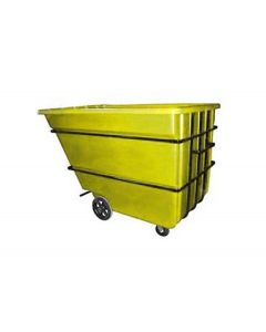 "Bayhead Heavy Duty 2.2 Cubic Yard Tilt Truck 74"" x 51"" x 53.5"" Yellow"
