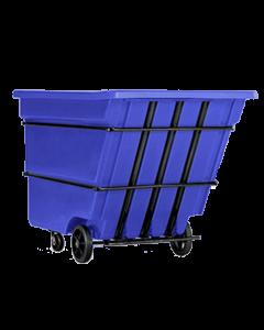 """Bayhead Heavy Duty 3.0 Cubic Yard Tilt Truck 81"""" x 56"""" x 56"""" Blue"""