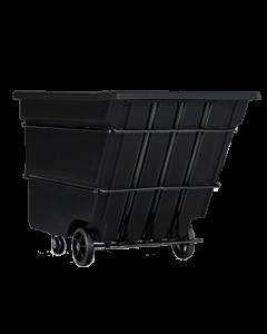 "Bayhead Heavy Duty 3.0 Cubic Yard Tilt Truck 81"" x 56"" x 56"" Black"