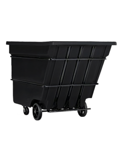 "Bayhead Heavy Duty 1.7 Cubic Yard Tilt Truck 74"" x 40"" x 53.5"" Black"