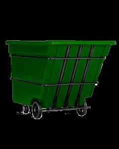 "Bayhead Heavy Duty 1.7 Cubic Yard Tilt Truck 74"" x 40"" x 53.5"" Green"