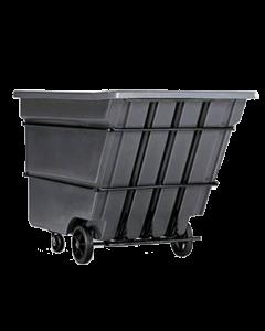"Bayhead Heavy Duty 1.7 Cubic Yard Tilt Truck 74"" x 40"" x 53.5"" Gray"