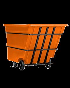 "Bayhead Heavy Duty 3.0 Cubic Yard Tilt Truck 81"" x 56"" x 56"" Orange"