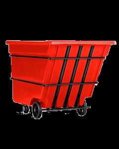 """Bayhead Heavy Duty 3.0 Cubic Yard Tilt Truck 81"""" x 56"""" x 56"""" Red"""