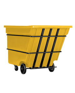 """Bayhead Heavy Duty 3.0 Cubic Yard Tilt Truck 81"""" x 56"""" x 56"""" Yellow"""