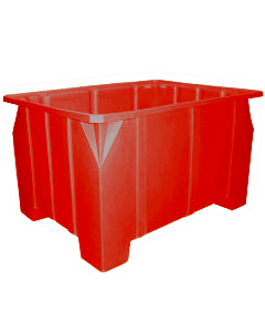"Bayhead Stacking Pallet Container 47"" x 42"" x 24"" Red"