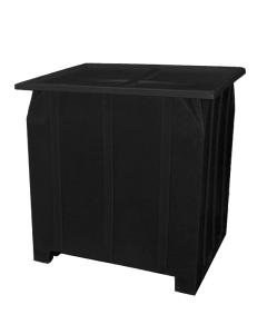 "Bayhead Plastic Lid 48"" x 43"" x 2"" for BY-GG-24, BY-GG-36 and BY-GG-48  Stacking Pallet Containers 47"" x 42"" Black"