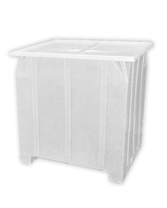 "Bayhead Plastic Lid 48"" x 43"" x 2"" for BY-GG-24, BY-GG-36 and BY-GG-48  Stacking Pallet Containers 47"" x 42"" White"