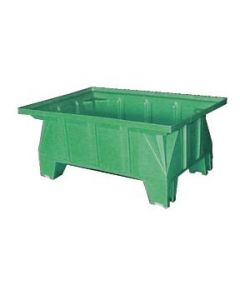 "Bayhead Stacking Pallet Container 40"" x 28"" x 16"" Green"