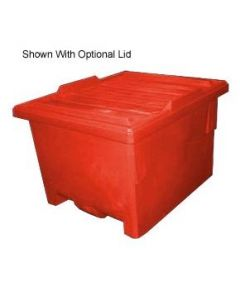 "Bayhead Nesting Pallet Container 50"" x 40"" x 33"" Red"