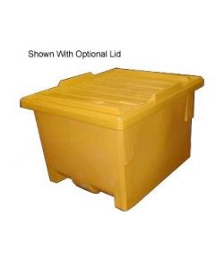"Bayhead Nesting Pallet Container 50"" x 40"" x 33"" Yellow"