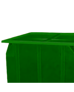 "Bayhead Plastic Lid 42.5"" x 42.5"" x 2.5"" for BY-SKA-1 and BY-SKA-2 Stacking Pallet Containers Green"