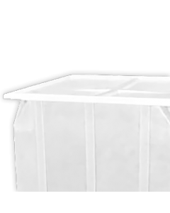 "Bayhead Plastic Lid 42.5"" x 42.5"" x 2.5"" for BY-SKA-1 and BY-SKA-2 Stacking Pallet Containers White"