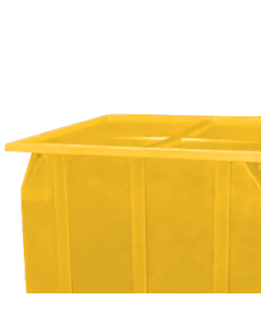 "Bayhead Plastic Lid 42.5"" x 42.5"" x 2.5"" for BY-SKA-1 and BY-SKA-2 Stacking Pallet Containers Yellow"