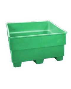 "Bayhead Nesting Pallet Container 43"" x 43"" x 24""  Green"