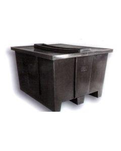 "Bayhead Nesting Pallet Container 50"" x 42"" x 33"" Black"