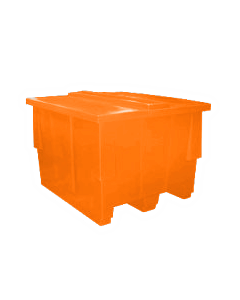 "Bayhead Nesting Pallet Container 50"" x 42"" x 33"" Orange"