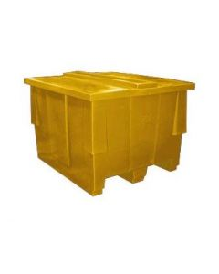 """Bayhead Nesting Pallet Container 50"""" x 42"""" x 33"""" Yellow"""