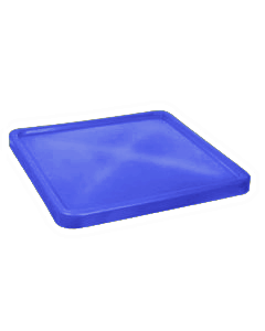 "Bayhead Plastic Lid 45"" x 45"" x 3"" for BY-SNP-24, BY-SNP-33 and BY-SNP-44  Nesting Pallet Containers 43"" x 43"" Blue"