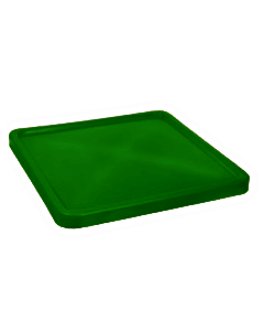 "Bayhead Plastic Lid 45"" x 45"" x 3"" for BY-SNP-24, BY-SNP-33 and BY-SNP-44  Nesting Pallet Containers 43"" x 43"" Green"