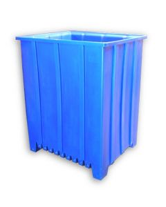 "Bayhead Tall Pallet Container 48"" x 41"" x 59""  Blue"