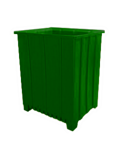 "Bayhead Tall Pallet Container 48"" x 41"" x 59""  Green"