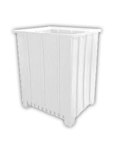 "Bayhead Tall Pallet Container 48"" x 41"" x 59""  White"