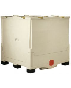 "Buckhorn 48"" x 40"" x 47"" Caliber Bulk Box - White"