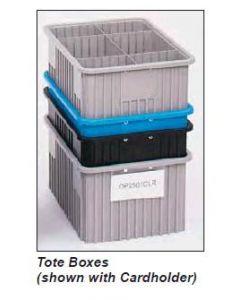 "METRO® Divider Tote Box Cardholders (NAT) 4.5"" L x 8"" H"